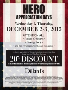 Dillard's Hero Police and Fire