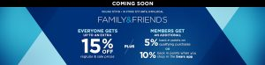 sears friends and family 071716
