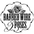 Barbed Wire & Roses logo