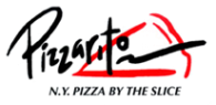 Pizzarito N.Y. Pizza by the Slice logo