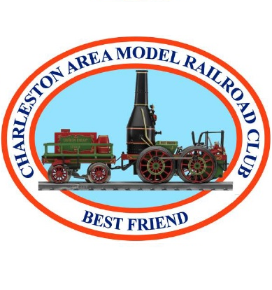 Charleston Area Model Railroad Association logo